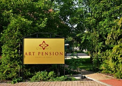Exteriér Art Pension